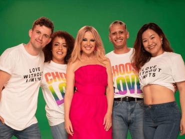 Kylie Minogue per il Brighton Pride: il video di  New York City