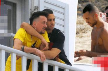 Mahmood, le foto di coppia con Dario Faini da Mykonos (e l'ipocrisia dei gay che chiedono il silenzio)