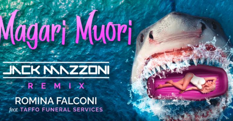 MAGARI MUORI di Romina Falconi feat TAFFO, ecco il remix ufficiale – audio
