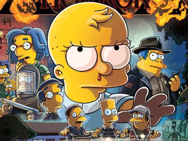 Simpson, omaggio a Stranger Things per il puntatone di Halloween – il poster