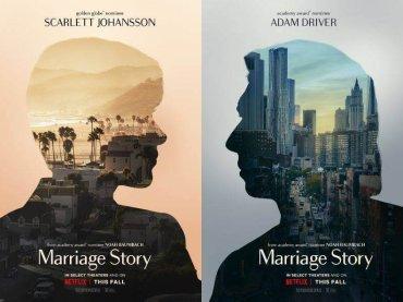 Storia di un matrimonio  di Noah Baumbach, trailer e poster del film con Scarlett Johansson e Adam Driver