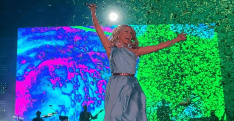 Kylie Minogue show al Brighton Pride, il video del concerto