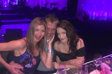 Reunion social per Mr. Big e Charlotte di Sex and the City: Kristin Davis ritrova Chris Noth