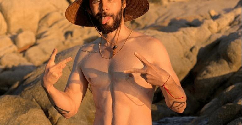 Jared Leto in costume, le foto social