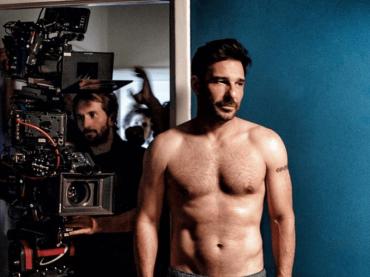 Edoardo Leo mostra il fisico sul set de La Dea Fortuna di Ferzan Ozpetek – la foto social