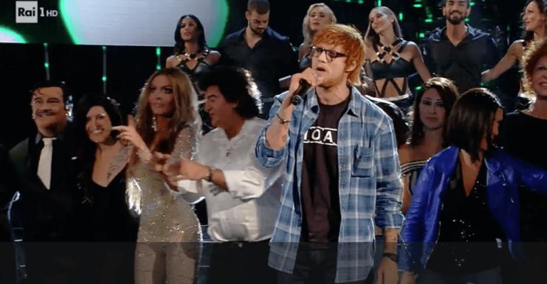 Tale e Quale Show, Francesco Monte vince la puntata con Ed Sheeran – video