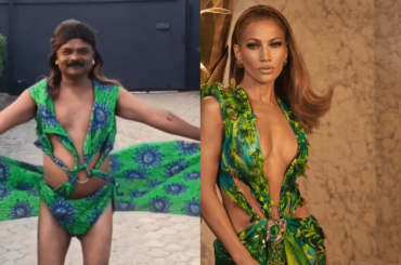Just Sul, il genio che ha omaggiato Jennifer Lopez e il suo Jungle Dress Versace – VIDEO