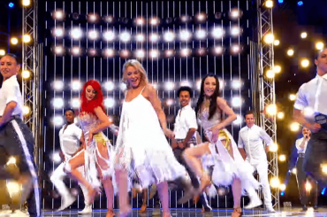 Kylie Minogue, super medley a Dancing with the Stars UK – video