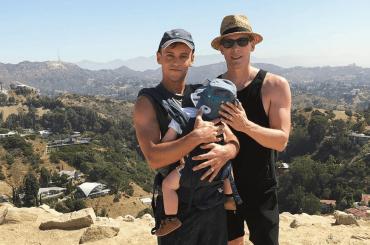 Tom Daley tenero papà, le foto social