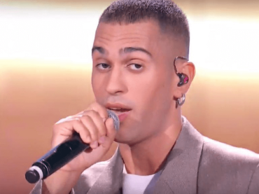 Mahmood, primo live tv di Barrio a Che Tempo che Fa – video