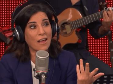 Paola Turci, stornelli romani live a  Radio2 – video