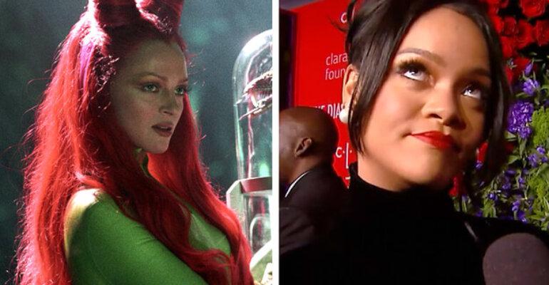 """Rihanna conferma: """"Mi piacerebbe interpretare Poison Ivy al cinema, ne sono ossessionata"""""""