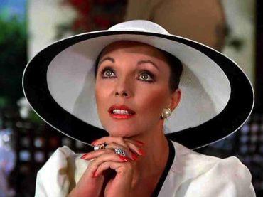 """Joan Collins, """"sul set di Dynasty mi odiavano tutti, ecco perché"""""""