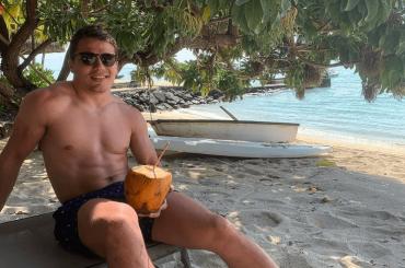 Mondiali di Rugby,  Antoine Dupont nudo negli spogliatoi – foto