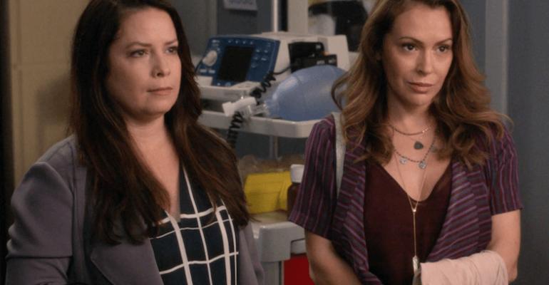 Streghe, Alyssa Milano e Holly Marie Combs riunite in Grey's Anatomy – il VIDEO preview