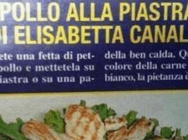 """Elisabetta Canalis vs. Di Più Tv: """"il pollo alla piastra loro invenzione, non mi chiesero nessuna ricetta"""""""
