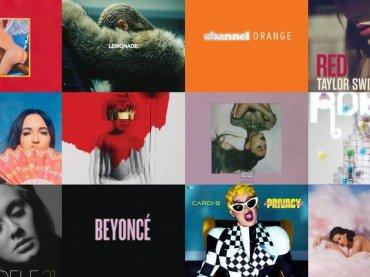 BILLBOARD elenca i migliori ALBUM del decennio: vince….