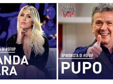 GF Vip 4 da gennaio su Canale 5: ufficiali PUPO e WANDA NARA opinionisti