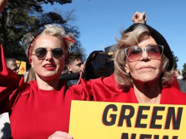 E' venerdì, arrestata JANE FONDA: arrestate anche Rosanna Arquette e Catherine Keener – video
