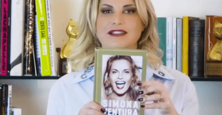 Codice Ventura, arriva il nuovo libro di Simona Ventura – l'annuncio video