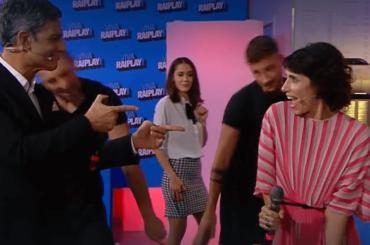 Viva Raiplay, Giorgia e Fiorello cantano Don't go breakin my Heart – video