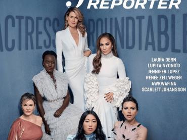 Jennifer Lopez sulla cover dell'Hollywood Reporter: il sogno OSCAR prende forma