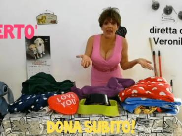 Lucia Ocone torna Veronika con COPERTO' – il video per aiutare i canili