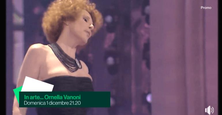 In Arte Ornella Vanoni, domenica l'omaggio alle 21.20 su  Rai3 – lo spot