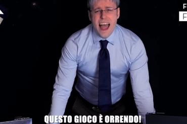 """Immanuel Casto diventa Mario Giordano in """"parlateci di Squillo"""", l'esilarante spot"""