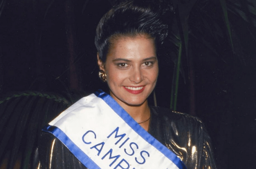Simona Ventura 1988 sui social, quando rappresentò l'Italia a Miss Universo