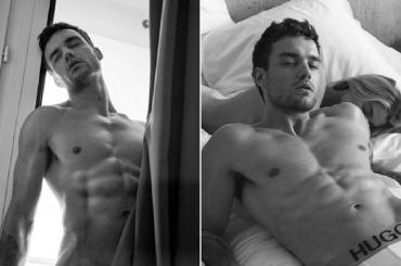 Liam Payne nudo e in mutande per Hugo Boss, le foto