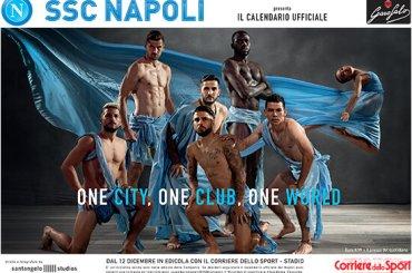 Napoli, calciatori in posa e mezzi nudi per il calendario 2020 – foto