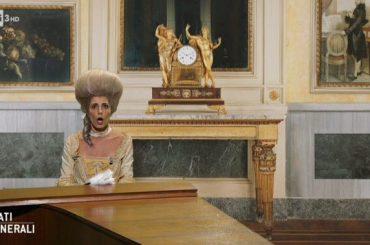 Giorgia  è Maria Mozart a Stati Generali, il video