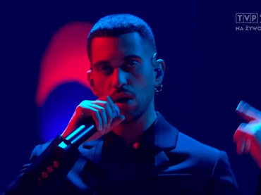 Mahmood live  live a The Voice of Polonia, il video