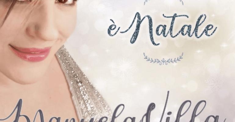 E' Natale di Manuela Villa arriva l'8 dicembre, con due inediti e sei cover
