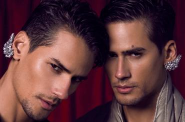 MARCOS e MARCIO PATRIOTA, i gemelli si spogliano per Desnudo Homme – foto