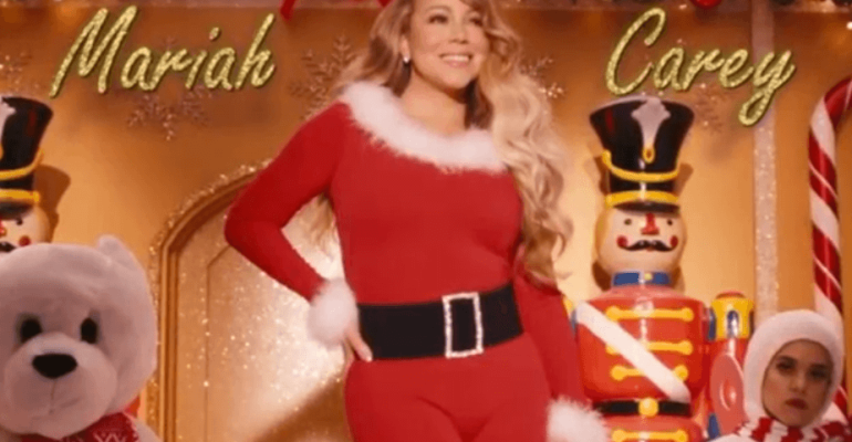 ALL I WANT FOR CHRISTMAS IS YOU, storico PRIMO primato nel Regno Unito per Mariah Carey