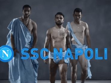 Calendario SSC Napoli 2020, il video del dietro le quinte