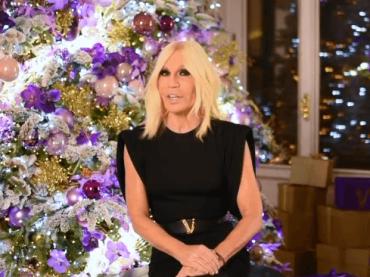 Donatella Versace, speranze e desideri per il 2020 – il video social