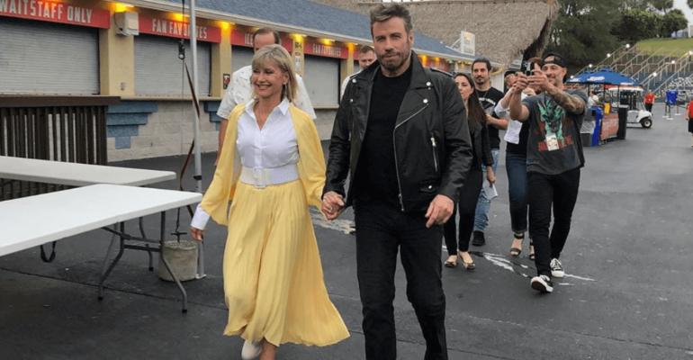 John Travolta e Olivia Newton-John sono di nuovo Danny e Sandy 41 anni dopo Grease – foto