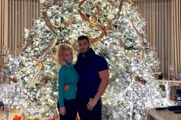 Britney Spears, albero di Natale da record – la foto social