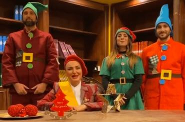 Arisa e i suoi folli auguri di Natale – il video social