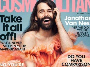 Jonathan Van Ness di Queer Eye pazzesca su Cosmopolitan UK