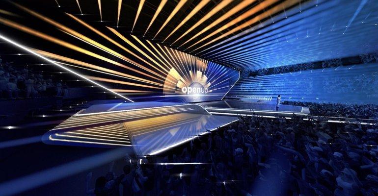 Eurovision 2020, ecco il palco che si ispira ai canali e ai ponti d'Olanda – foto