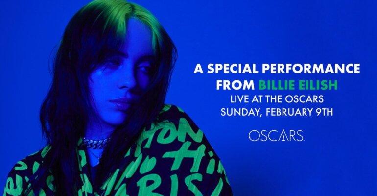 Oscar 2020, Billie Eilish ospite a sorpresa: canterà in attesa della futura nomination targata 007