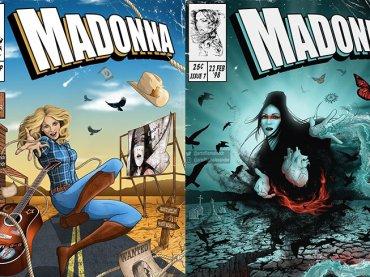 Madonna, le iconiche copertine dei suoi dischi diventano fumetti – gallery