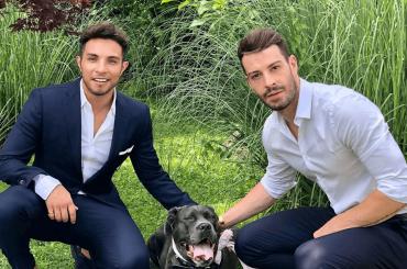 Marco Carta saluta il 2019 al fianco dell'amato Sirio, la foto social con dedica