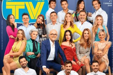 GF Vip 4, ecco tutto il cast sulla cover di Tv Sorrisi e Canzoni