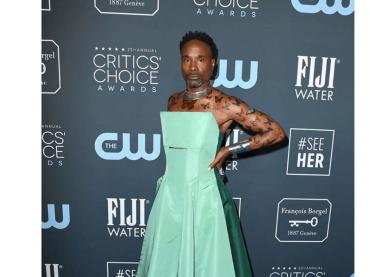 Billy Porter farfalla principesca ai Critics' Choice Award 2020, le foto social