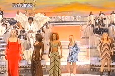 Sanremo 70, – 14: quando Valeria Marini presentò le Spice Girls – video